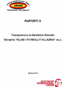 raporti i transparences